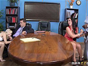 Divorce turns sloppy with Nikki Benz and Alex Grey