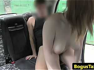 taxi Driver has a good time smashing a scorching passenger