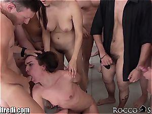 wild Italian porn pornstar fuckfest