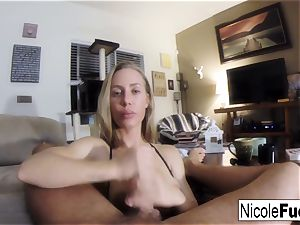 Home movie of Nicole Aniston providing a point of view gargle Job