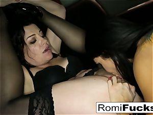 fantastic victim Romi lets master Sovereign predominate her