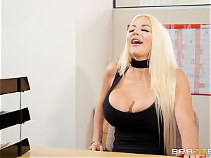 Nicolette Shea gets her concentration examined in this scorching interview
