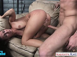 bombshell Cassidy Klein screwed in her small hole