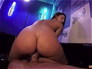 Amirah Adarah penetrating in a bar
