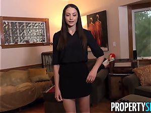 PropertySex slim Avi enjoy pummels on mansion trip