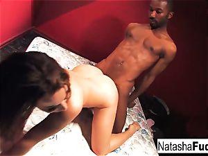 harsh bang-out with Natasha nice and Tee Reel