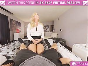 VRBangers.com-MILF is slamming a hitachi in her fuckbox