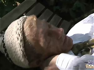 aged young porno nubile Gold Digger anal fucky-fucky With grandpa